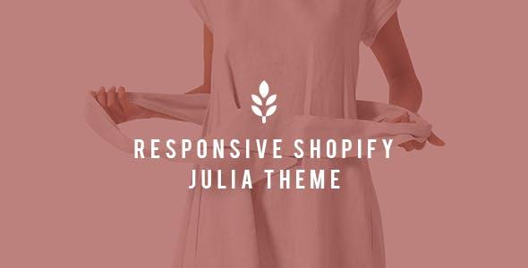 Julia - Shopify Responsive Drag and Drop Theme
