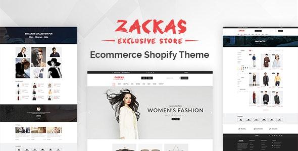 Zackas Responsive Shopify Theme