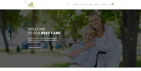 Bcare - Senior Care PSD Template