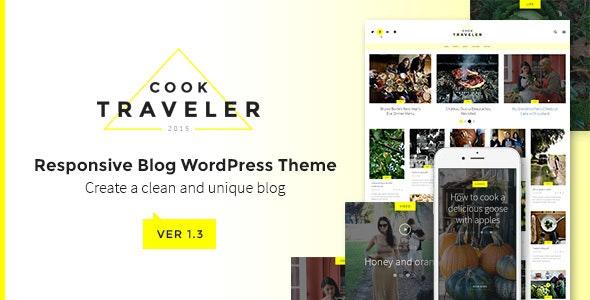 Cook Traveler - Responsive Blog WordPress Theme - Blog / Magazine WordPress