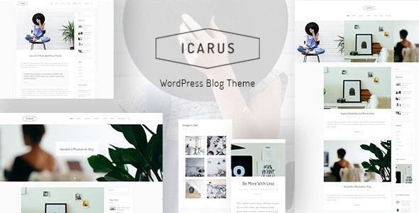Icarus - Personal Blog WordPress Theme - Personal Blog / Magazine