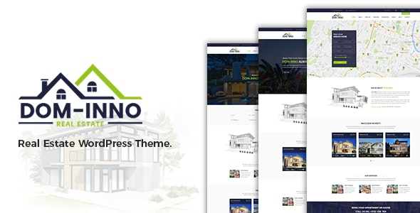 Dominno Real Estate WordPress Theme - Real Estate WordPress
