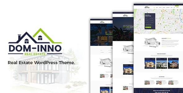 Dominno Real Estate WordPress Theme