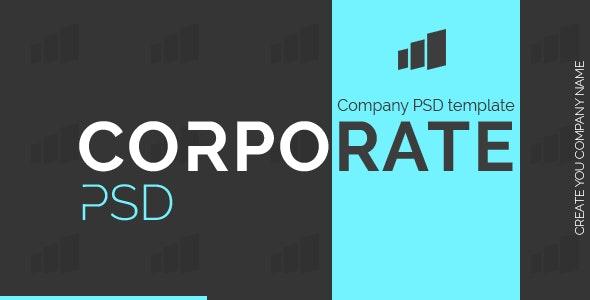CorpoRate - PSD Template - Business Corporate