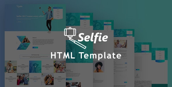 Selfy - Best Photography Website Templates - Photography Creative