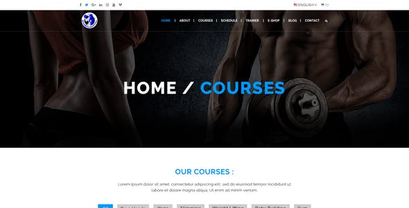 Slim&Fit Health Club | Multipurpose Sport, Gym, Fitness, Yoga, Dance PSD Template