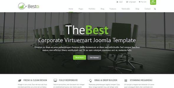 TheBest Corporate Joomla Virtuemart Template