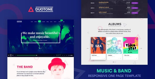 Spotify Templates from ThemeForest