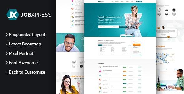 Job-Express - Job Portal & Resume by codeflicks | ThemeForest