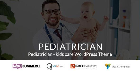 Pediatrician - kids care WordPress Theme - Health & Beauty Retail