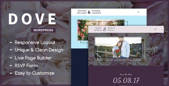 Dove - A Wedding WordPress Theme