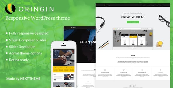 Oringin | Responsive Multi-Purpose WordPress Theme