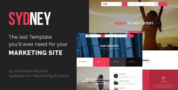 Sydneo - Marketing HTML Template