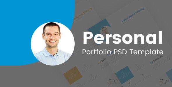Shohag Personal Portfolio PSD Template - Portfolio Creative