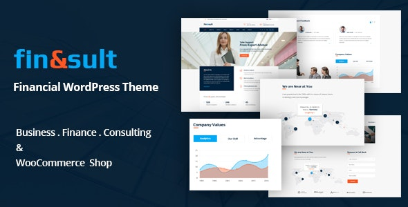 FinSult - A Business Consulting and Finance WordPress Theme - Business Corporate
