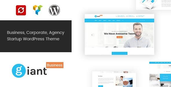 Giant Business - Multipurpose Agency & Corporate WordPress Theme - Business Corporate