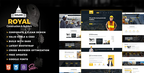 Royal - Construction - Business Corporate