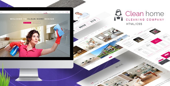 Clean Home HTML/CSS Template - Business Corporate