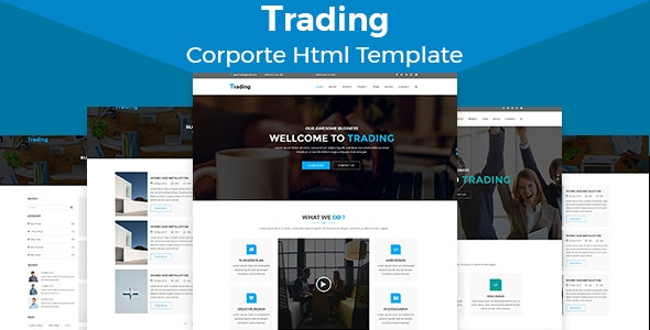 Trading - Multipurpose HTML5 Corporate Template - Marketing Corporate