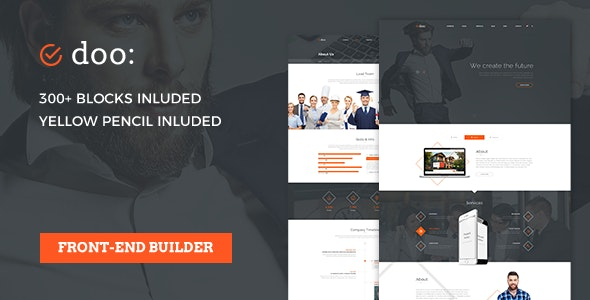 Doo - Consulting WordPress Theme - Business Corporate