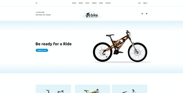 UP BIT - The Ultimate Sports Club-Event-Shop PSD Template and Web UI Kit