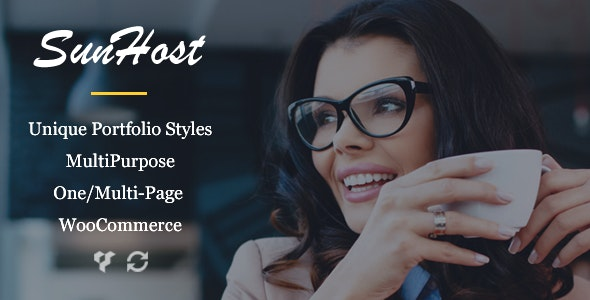 SunHost – Responsive Multipurpose WordPress Theme - Business Corporate