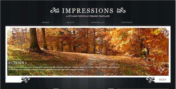 Impressions - HTML version