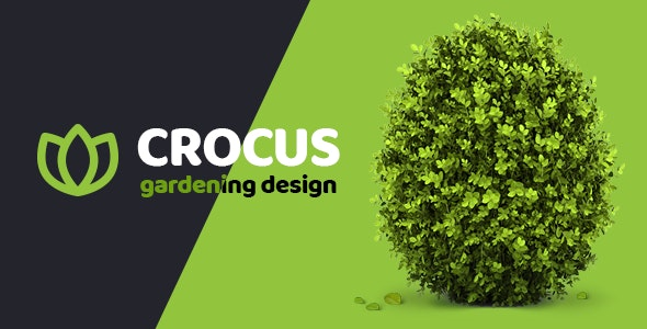 Crocus - Gardening and Landscape Design Company HTML Template - Business Corporate