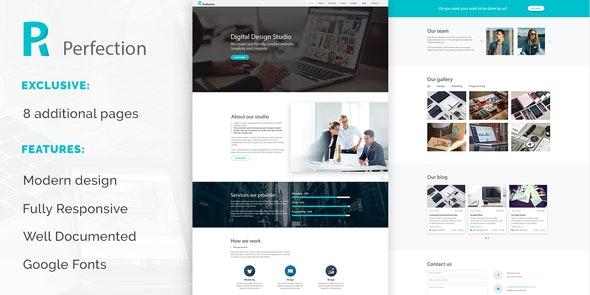 Perfection - Business Multiporpose Website Template - Business Corporate
