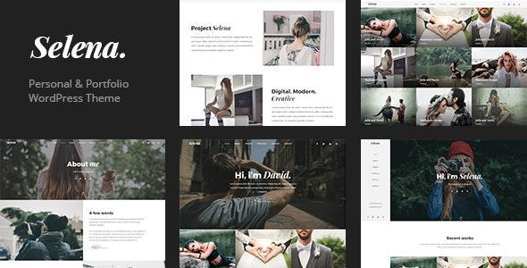 Selena. - Multipirpose WordPress Theme - Portfolio Creative