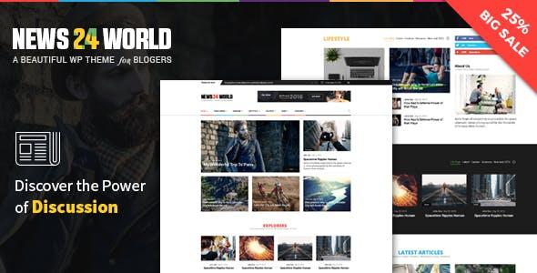 Blog Magazine Newspaper WordPress