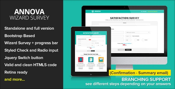 Annova - Survey Wizard - Specialty Pages Site Templates