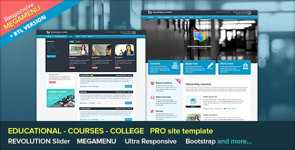 Edu - Educational and Courses Site Template