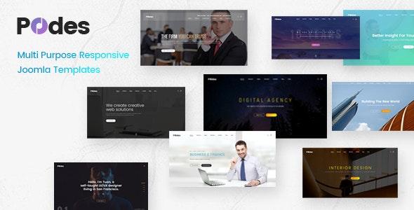 Podes - Multi-purpose Responsive Joomla Template - Creative Joomla