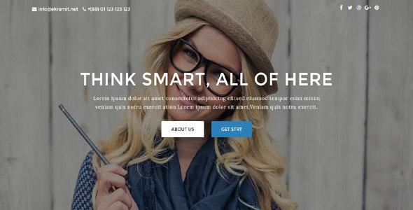 Kakon - Design Studio Marketing Agency Template - Technology Site Templates