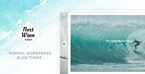 NextWave - Minimal WordPress Blog Theme - Blog / Magazine WordPress