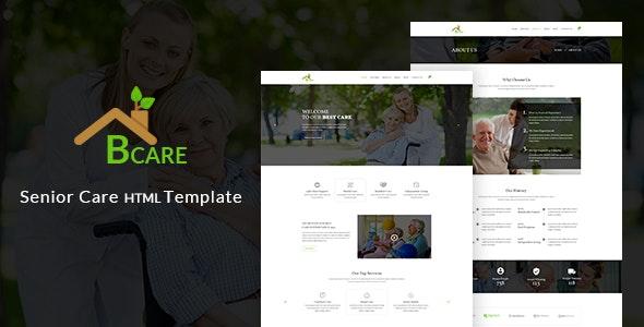 Bcare - Senior Care HTML Template - Health & Beauty Retail