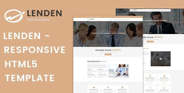 Lenden   Business & Corporate HTML5 Template - Business Corporate