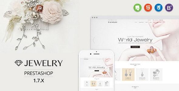 Jewelry - Responsive Prestashop 1.7 Theme - Health & Beauty PrestaShop