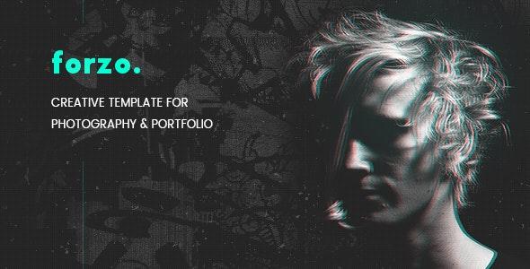 FORZO – Creative Photography & Portfolio HTML5 Template - Photography Creative