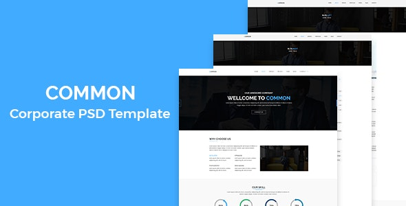 Common - Corporate PSD Template - Business Corporate