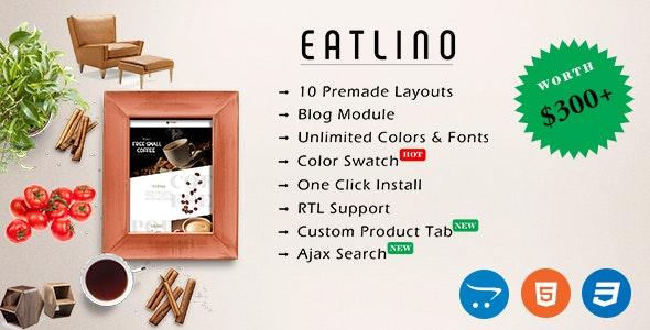 Eatlino - Advanced Multipurpose OpenCart Theme - OpenCart eCommerce