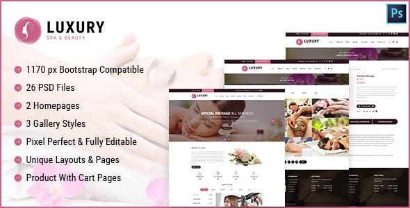 Luxury Spa and Beauty - Health & Beauty Retail