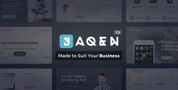 Jaqen | Business Email Set