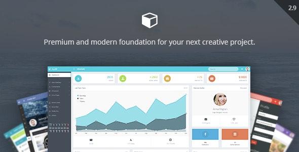 AppUI - Web App Bootstrap Admin Template - Admin Templates Site Templates