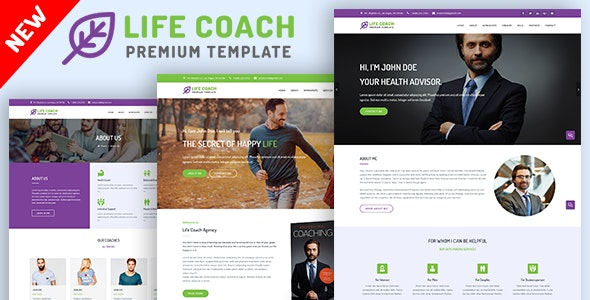 Life Coach, Psychologist and Speaker Template - Business Corporate