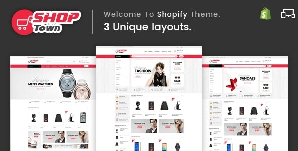 Shop Town - Sectioned Multipurpose Shopify Theme - Shopping Shopify