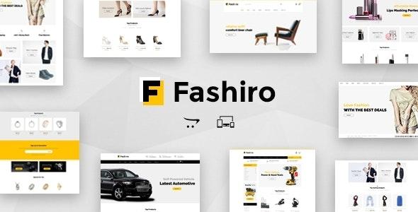 Fashiro - Multipurpose OpenCart Theme - Fashion OpenCart