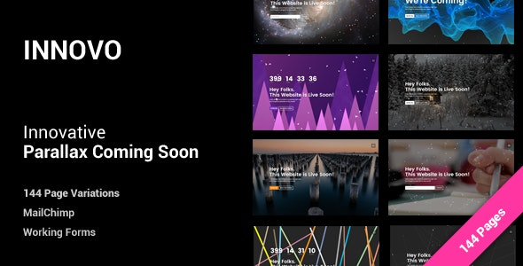 Innovative Coming Soon Template - Under Construction Specialty Pages