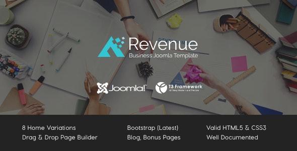 Revenue - Business Joomla Template - Business Corporate